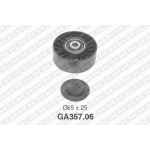 NTN-SNR GA357.06 Ролик приводного ремня SKODA 38145276 (Пр-во NTN-SNR)