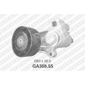 NTN-SNR GA358.55 Натяжной ролик, поликлиновой  ремень CITROEN 5751.30 (Пр-во NTN-SNR)