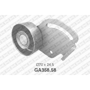 NTN SNR GA35858 Ролик привідного ременя PEUGEOT 306/406/605/806 \2,0 \92-99