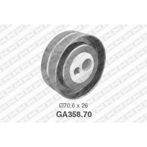 SNR GA35870 Натяжной ролик, поликлиновой  ремень