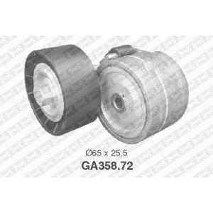 SNR GA358.72 Натяжной ролик, поликлиновой  ремень
