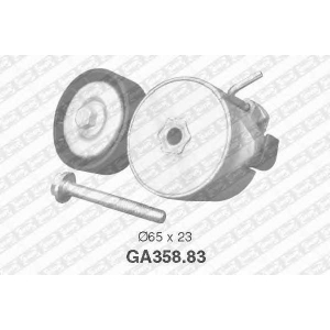 ga35883 snr Натяжной ролик, поликлиновой  ремень FIAT PANDA Наклонная задняя часть 1.2