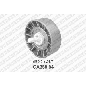 NTN SNR GA35884 Ролик привідного ременя Fiat Ducato/ Peugeot Boxer
