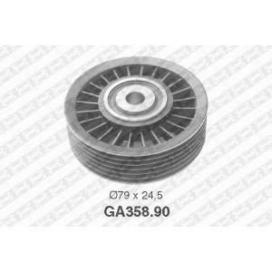 SNR GA35890 Паразитный / ведущий ролик, поликлиновой ремень