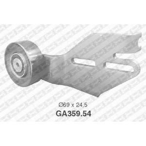 SNR GA35954 Натяжной ролик, поликлиновой  ремень