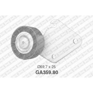 SNR GA359.80 Ролик натяжной ремня генератора PSA XU10J4R/EW10J4 +AC 70x25x17