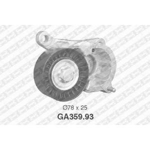 NTN-SNR GA359.93 Натяжной ролик, поликлиновой  ремень FIAT 9636207480 (Пр-во NTN-SNR)