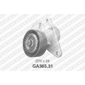 SNR GA365.31 Натяжной ролик, поликлиновой  ремень