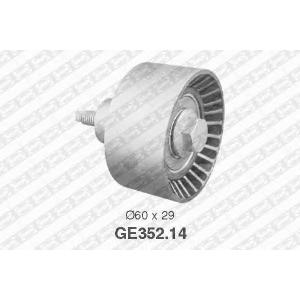 Паразитный / Ведущий ролик, зубчатый ремень ge35214 snr - FORD MONDEO II (BAP) Наклонная задняя часть 1.6 i