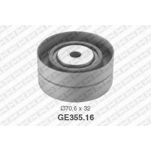 SNR GE355.16 Ролик обводной ремня ГРМ Laguna G8T ->11/95