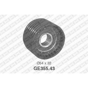 NTN SNR GE35543 Ролик направляючий RENAULT Clio/Duster/Kangoo/Laguna/Megane/Trafic \98>>