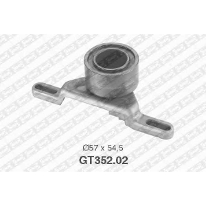 NTN-SNR GT352.02 Натяжной ролик, ремень ГРМ FORD 6182891 (Пр-во NTN-SNR)