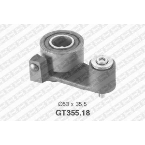 NTN-SNR GT355.18 Натяжной ролик, ремень ГРМ RENAULT 7439135036 (Пр-во NTN-SNR)
