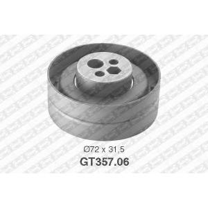 NTN-SNR GT357.06 Натяжной ролик, ремень ГРМ AUDI 078109243C (Пр-во NTN-SNR)