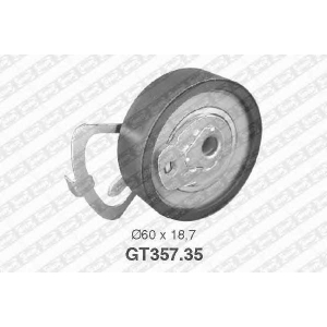NTN SNR GT357.35 Ролик ГРМ, натяжной