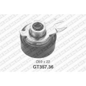 SNR GT357.36 Натяжной ролик, ремень ГРМ