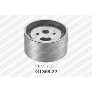 SNR GT358.22 Ролик модуля натягувача ременя