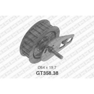 SNR GT358.38 Натяжной ролик, ремень ГРМ