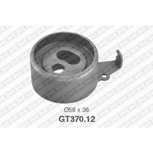 NTN GT370.12 Ролик ременя