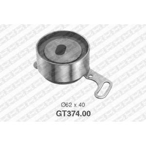 NTN-SNR GT374.00 Натяжной ролик, ремень ГРМ HONDA 14510-PT0-003 (Пр-во NTN-SNR)