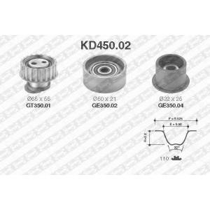 SNR KD45002 Комплект ремня ГРМ