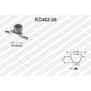 SNR KD45206 Комплект ремня ГРМ