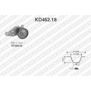 SNR KD452.18 Комплект ремня ГРМ