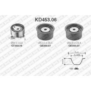 NTN-SNR KD453.06 Комплект ремня ГРМ Lacetti