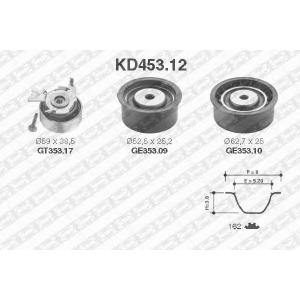 SNR KD453.12 Роликовий модуль натягувача ременя (ролик, ремінь)