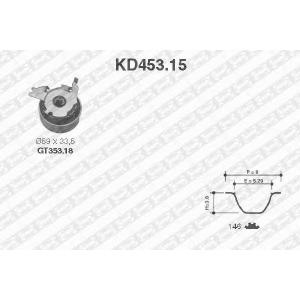 SNR KD45315 Комплект ремня ГРМ
