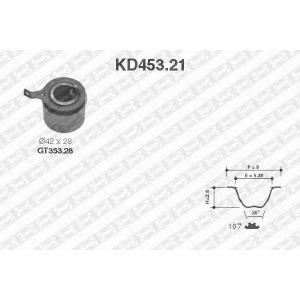 NTN SNR KD453.21 Рем. Комплект ГРМ: ремень + ролики