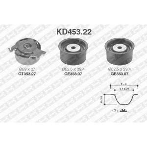 SNR KD45322 Комплект ремня ГРМ