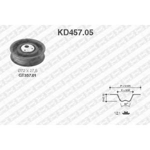 NTN-SNR KD457.05 Комплект ремня ГРМ