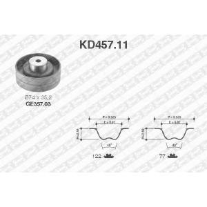 SNR KD45711 Комплект ремня ГРМ