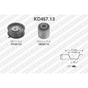 SNR KD45713 Комплект ремня ГРМ