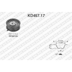 SNR KD45717 Комплект ремня ГРМ