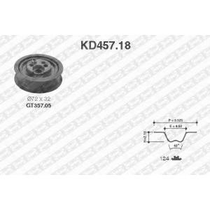 SNR KD45718 Комплект ремня ГРМ