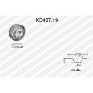 SNR KD45719 Комплект ремня ГРМ