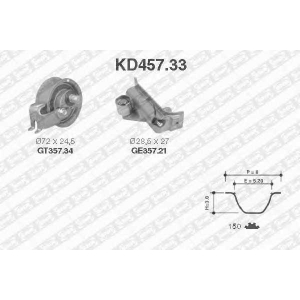NTN-SNR KD457.33 Комплект ремня ГРМ