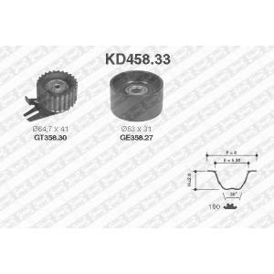 SNR KD458.33 KD458.33 Комплект ременя ГРМ SNR (шт.)