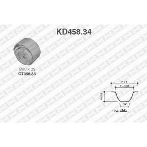 NTN-SNR KD458.34 Комплект ремня ГРМ