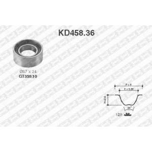 SNR KD45836 Комплект ремня ГРМ