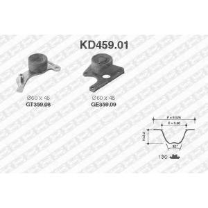 SNR KD459.01 Комплект ГРМ 136z PSA XUD7/XUD9 06/92->