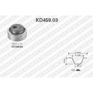 SNR KD459.03 Комплект ремня ГРМ