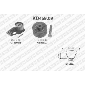 SNR KD45909 Комплект ремня ГРМ