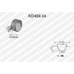 SNR KD45934 Комплект ремня ГРМ