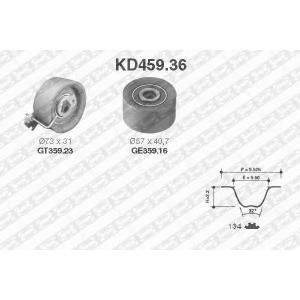 SNR KD459.36 Комплект ГРМ 134z PSA TU5JP4 ->09/03