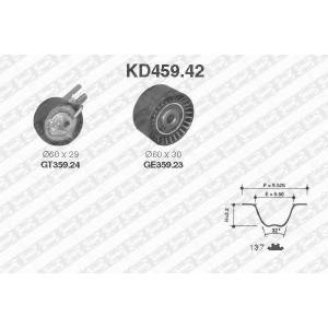 NTN SNR KD459.42 Рем. Комплект ГРМ: ремень + ролики
