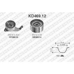 SNR KD46912 Комплект ремня ГРМ