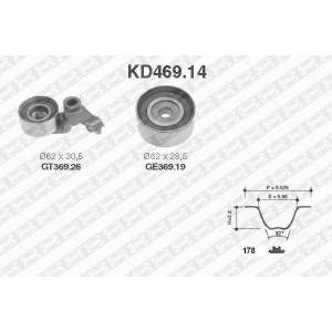SNR KD469.14 Ремінь ролик комплект